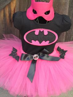 Hey, I found this really awesome Etsy listing at http://www.etsy.com/listing/111631783/pink-batgirl-tutu-set