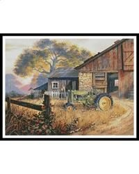 This counted cross stitch pattern was created from the beautiful artwork of Michael R. Humphries. Image copyright of Michael R. Humphries/ artlicensing.com. Only full cross stitches are used in this pattern. It is a black and white symbol pattern.