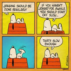 Snoopy - Jogging!                                                                                                                                                                                 More