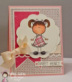 Love this image from Lori Boyd Designs and the card is made by Karen Giron.