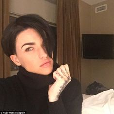 'New city. New show. New hairs': Ruby Rose, soon to become a household name in the US when...