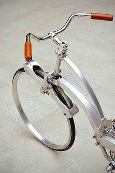 amazing foldable bike