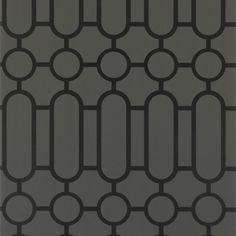 porden - noir wallpaper | Designers Guild