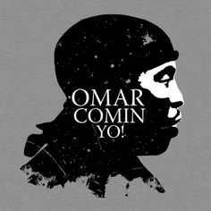 """omar of the wire mashup with """"winter is coming"""" The Wire Tv Show, The Wire Hbo, Best Tv Shows, Movies And Tv Shows, Favorite Tv Shows, Survival Tattoo, Day Of The Shirt, Egyptian Tattoo, Film Serie"""