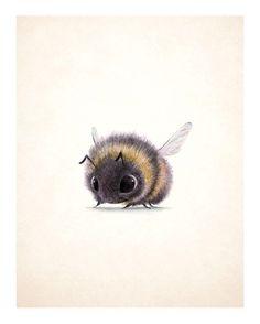 Syd's illustration, 'Bumblebee!'