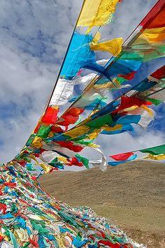 Prayer flags - Tibet