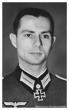 ✠ Ekkehard Kylling-Schmidt (21 June 1918 - 28 August 2000) RK 20.10.1941 Leutnant Führer 3./Inf.Rgt 26 30. Infanterie – Division [150. EL] 04.12.1942 Oberleutnant Chef 4./Füs.Rgt 26 30. Infanterie – Division