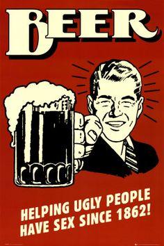 Beer's helpful effect!