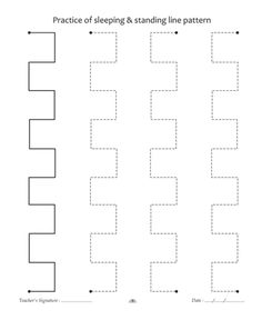 Pattern Writing 9 Sheet