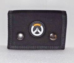 OVERWATCH Trifold Fabric Wallet Snap Blizzard Game  #Bioworld #Trifold
