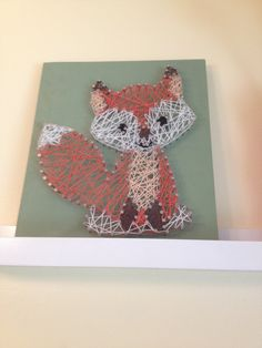 Fox String Art