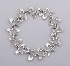 Necklace | Georg Jenson. Sterling silver. ca. 1947 - LOVE IT!