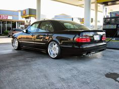 """Mercedes-Benz W210 on 19"""" Auto Couture Magnifique  BENZTUNING   The Largest Photo Collection of Mercedes-Benz"""