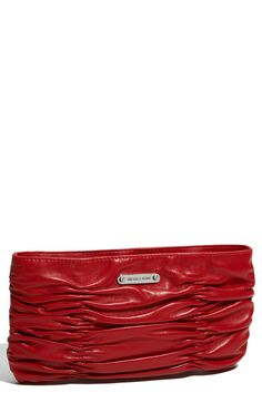 MICHAEL Michael Kors 'Webster' Clutch | Nordstrom Hmmm...I want this in black!!!!
