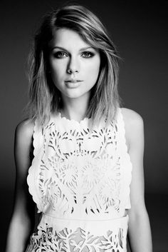 T Swift - love the hairstyle.  Simple, elegant, career-appropriate – Glamour Magazine (June 2015)