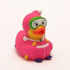 Canard de bain ski 3