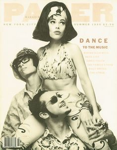 papermagazine:  Deee-Lite on the cover of our Summer 1990 issue.