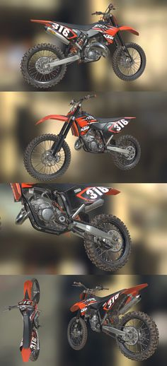 Kawasaki 250 Dirt Bike Monster http://www.stosum.com ...