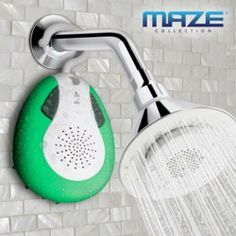 Maze Collection Waterproof Bluetooth Speaker - 4 Colors Available - $19.00
