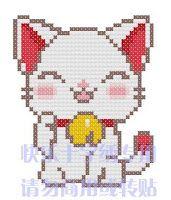 Вышивка крестом / Cross stitch : Просто коты: схемы вышивки крестом