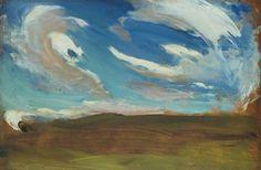 """Konrad Krzyzanowski, """"Clouds"""", 1906, the National Museum in Warsaw"""