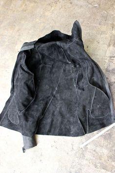 b8481178 DISTORTION Leather Hooded Jacket. DIS-LJ-01-LV-HO « GULLAM
