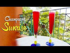 Receita de Champagne Sunrise - https://www.youtube.com/watch?v=GuZuyZNyZTg