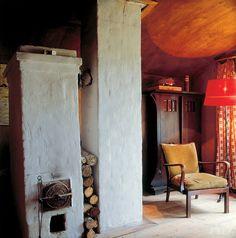 Дачи советских архитекторов. ВИКТОР ВЕСНИН. На даче стояла мебель XVIII–XIX веков, висели картины.