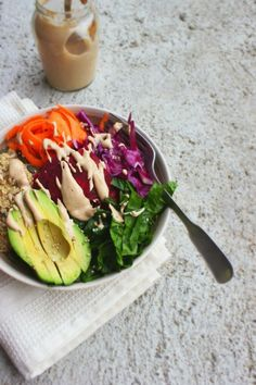 The Power Lunch Salad-- links to 7 awesome salad recipes!