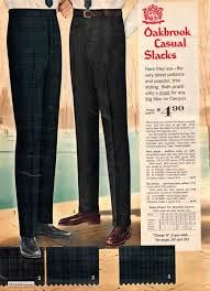 1960 Pant Style: Dads/Adults/Albert/Mayor/etc