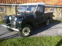 Landrover Defender: Land rover series 1 one, 107 pick up,1956