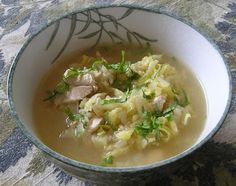 Seeds and Weeds: Cabbage and chicken soup