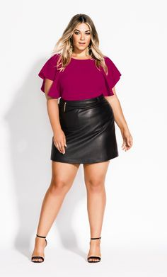 Cute Outfits For Plus Size Women. Plus size fashion for women. Fashion tips, Inspiration and dressiong ideas for Plus Size Women. Plus Size Fashion For Women Summer, Short Women Fashion, Womens Fashion For Work, Plus Size Women, Fashion Black, Petite Fashion, Curvy Fashion, Curvy Outfits, Plus Size Outfits