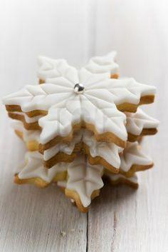 Galletas cubiertas de fondant de Navidad