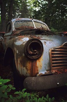 Rusted Old Car is a photograph by Allison Ferris. Source fineartamerica.com