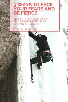 Don't let fear hold you back. Get out there and try something new with these tips on facing fear in the outdoors. #outdoors #fearofheights #facingfear #outdoorskills