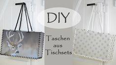 DIY - Taschen aus Tischsets, stylisch, praktisch und robust