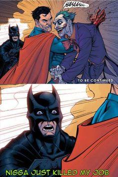 Not cool Superman…