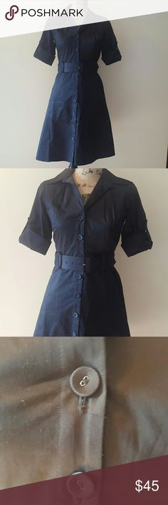 *offers welcome* Ann Taylor Dress with belt Great condition  Comes with belt Ann Taylor Dresses