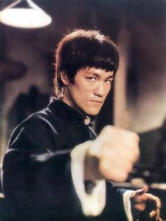 "Bruce Lee from ""The Chinese Connection"" as the movie was called in the USA."