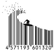Surfer #barcode PD