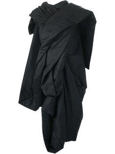 Rick Owens Draped Coat - Nike - Via Verdi - Farfetch.com