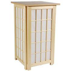 lighting ideas 27 inch hokkaido japanese paper lantern floor lamp. Black Bedroom Furniture Sets. Home Design Ideas