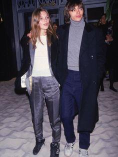 Model Kate Moss and Boyfriend, Photographer Mario Sorrenti Premium-Fotodruck