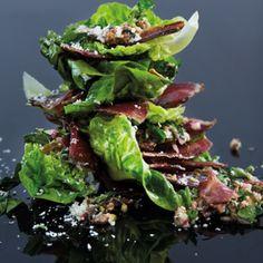 Taste Mag | Biltong salsa verde salad @ http://taste.co.za/recipes/biltong-salsa-verde-salad/