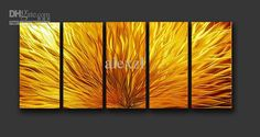 Wholesale Metal Modern Abstract Wall Art  $130.00