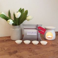 Wax Melts Fireside Pack of 4 Wax Tarts by nancyandnellcandles