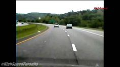 Missouri Police Chase Dodge Magnum Shooting AK-47 At Police (Dashcam Video)