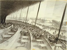 Hugh Ferriss – was an American delineator (one who creates drawings and sketches of buildings) and architect. According to Daniel Okrent, Ferri. Architecture Drawings, Architecture Design, Building Sketch, World Of Tomorrow, Futuristic City, Grand Designs, Environment Design, Urban Planning, Dieselpunk