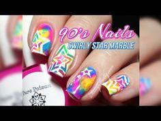 90's Girl Nail Art T